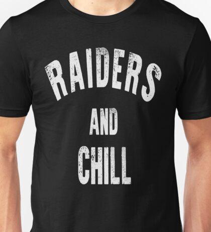 Raiders and Chill Unisex T-Shirt