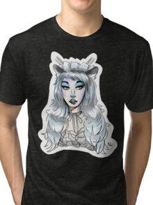 Moon Deer Gogo! Tri-blend T-Shirt