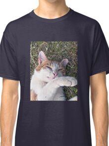Cat smiling Classic T-Shirt