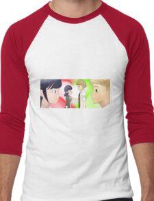 Miraculous Ladybug - Adrienette (UPDATED) Men's Baseball ¾ T-Shirt