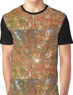Sun through Autumn Leaves Graphic T-Shirt