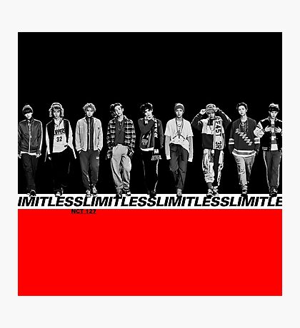 NCT 127 - Limitless Photographic Print