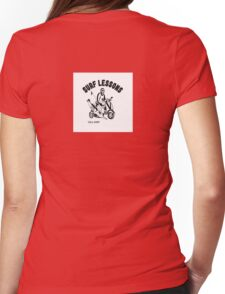Surf Lessons Womens Fitted T-Shirt