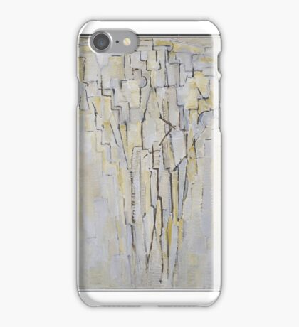 Piet Mondrian    The Tree A Arbre iPhone Case/Skin