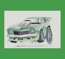 Holden Torana A9X-Burnout by Glens Graphix Baby Tee