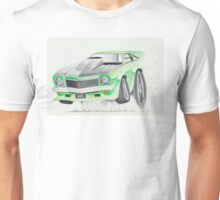 Holden Torana A9X-Burnout by Glens Graphix Unisex T-Shirt