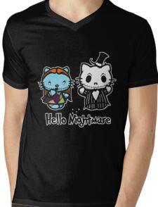 Hello Nightmare Mens V-Neck T-Shirt