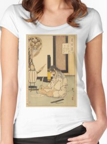 General Akashi Gidayu (Honor and Suicide) Women's Fitted Scoop T-Shirt