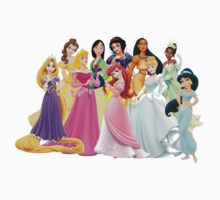 Disney Princesses by laurapm