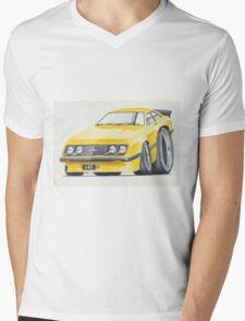 Escort RS2000 Mk2 By Glens Graphix Mens V-Neck T-Shirt