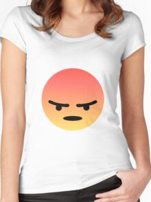 Angry React Women's Fitted Scoop T-Shirt