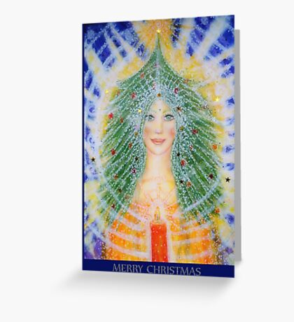 Christmas Angel card Greeting Card