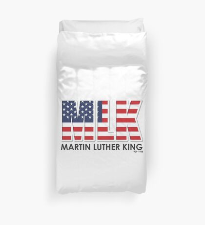 Trendy Martin Luther King Strutted & Flaunted Duvet Cover