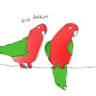 king parrots by Matt Mawson