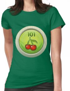 Glitch Achievement entrylevel fruit tree harvester Womens Fitted T-Shirt