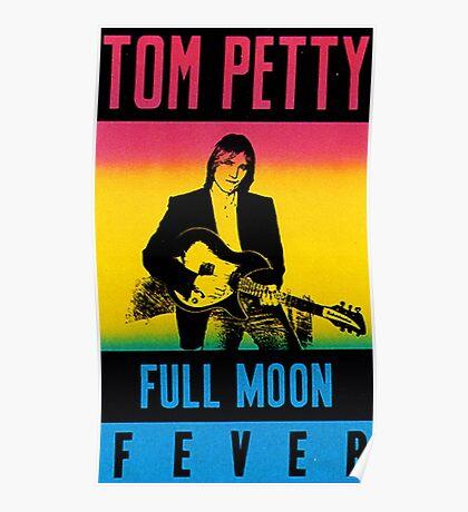 Tom Petty - Full Moon Fever Poster