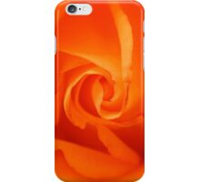 Beautiful Orange Rose iPhone Case/Skin