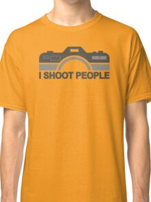 I Shoot People Photography Text Classic T-Shirt