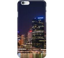 Sydney CBD at night iPhone Case/Skin