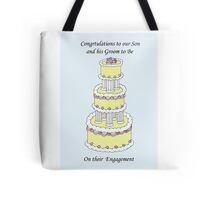Congratulations to our son and his Groom to Be on their engagement. Tote Bag