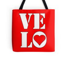 VELO / LOVE STICKER Tote Bag
