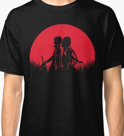 Kirigaya Kazuto Yuuki Red Moon Classic T-Shirt