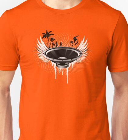 Ride the Bass! - B&W Unisex T-Shirt