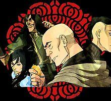 Legend of korra Red lotus by AvatarSkyBison
