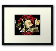 Legend of korra Red lotus Framed Print