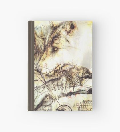 Wolf of Time Hardcover Journal