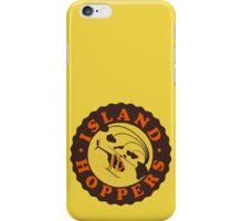 Island Hoppers /brown iPhone Case/Skin