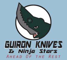 Guiron Knives & Ninja Stars Kids Tee