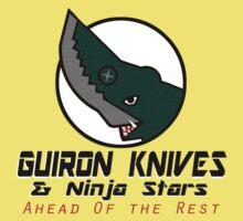 Guiron Knives & Ninja Stars One Piece - Short Sleeve