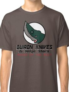 Guiron Knives & Ninja Stars Classic T-Shirt