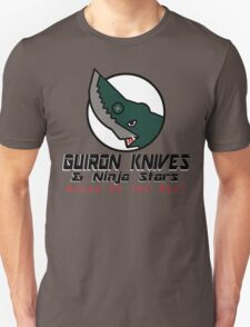 Guiron Knives & Ninja Stars T-Shirt