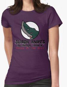 Guiron Knives & Ninja Stars Womens Fitted T-Shirt