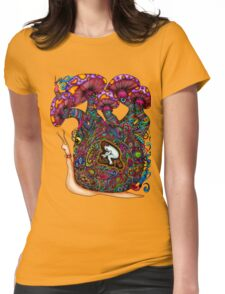 Slow Paste Womens Fitted T-Shirt