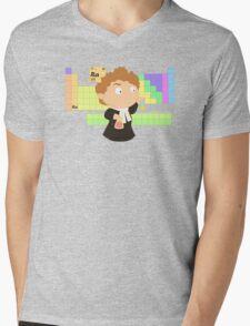 Madame Curie Mens V-Neck T-Shirt