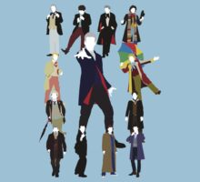 All Thirteen! (Version 2) - Doctor Who T-Shirt