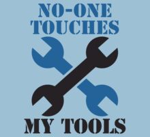 NO-ONE touches my tools funny mechanic spanner car design by jazzydevil