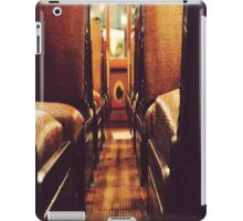 Vintage bus seats iPad Case/Skin