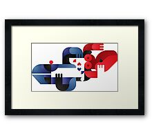 Another kiss in Tokyo Framed Print