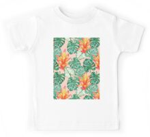 Gentle tropical peach Kids Tee