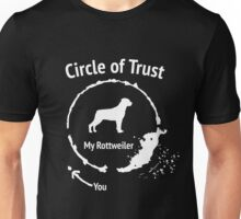 Funny Rottweiler shirt - Circle of Trust Unisex T-Shirt