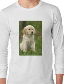 Golden Retriever! Puppy! Long Sleeve T-Shirt