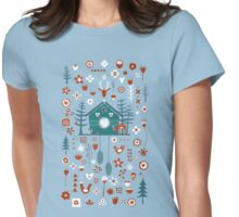 Cuckoo Clock Womens Fitted T-Shirt