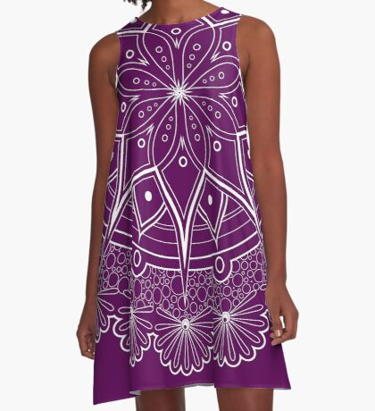 Mandala-la-la Too A-Line Dress