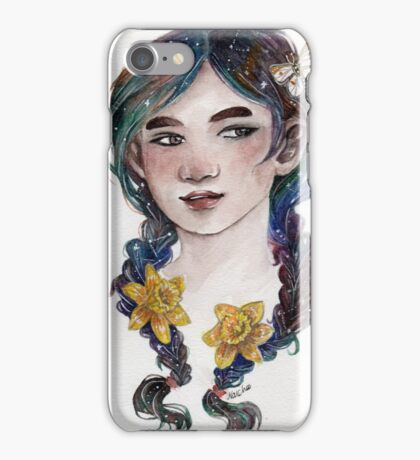 Galaxy Braids iPhone Case/Skin