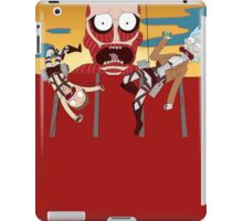 rick and morty 11 iPad Case/Skin