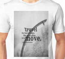 Robert Louis Stevenson Travel Unisex T-Shirt